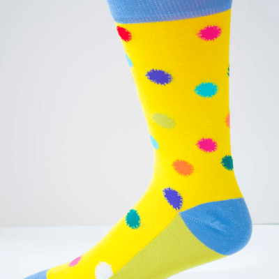 Polka Fever Mens Sock