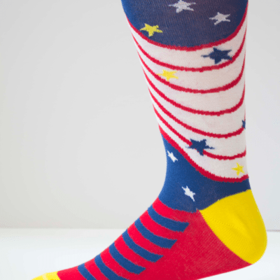 Rockets Red Glare Mens Sock