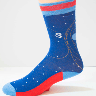 Space Cowboy Womens Sock