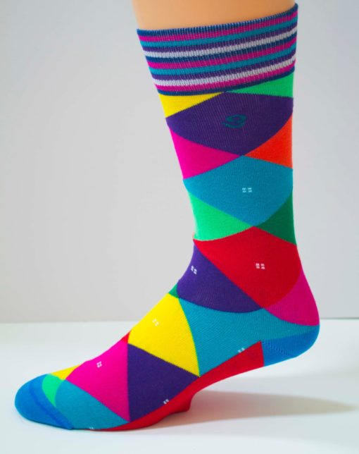 Steamed Carnivale Mens Sock