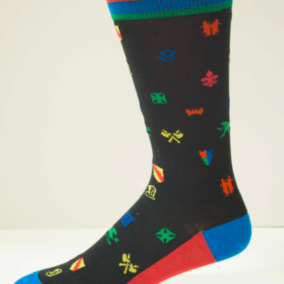 The Black Knight Womens Sock