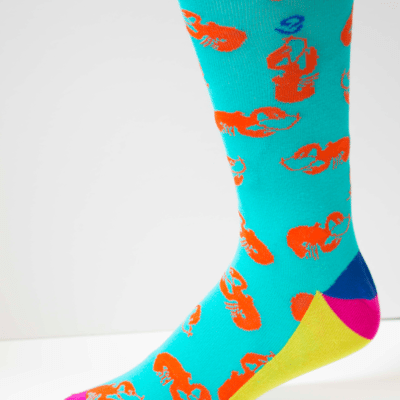 Under The Sea Mens Sock