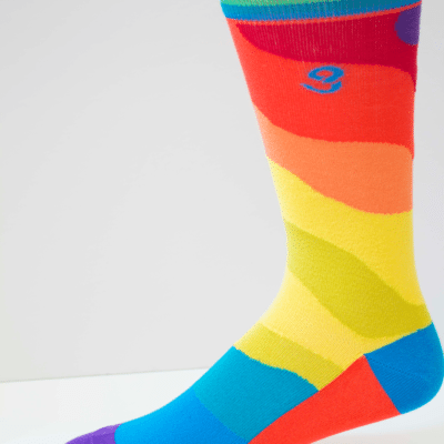 Wavy Gravy Mens Sock