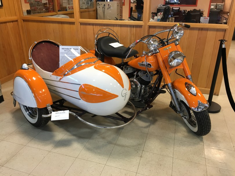 Newest Addition 1953 Indian Roadmaster Chief with Goulding