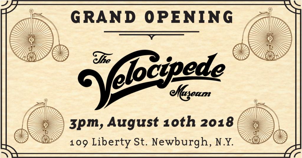 Velocipede Grand Opening