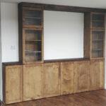 Meuble - Bibliothèque en érable massif
