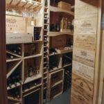 Ébénisterie - Cave à vin en pin