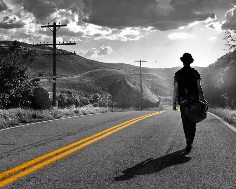 man walking off into the distance movie photographer natalie cass