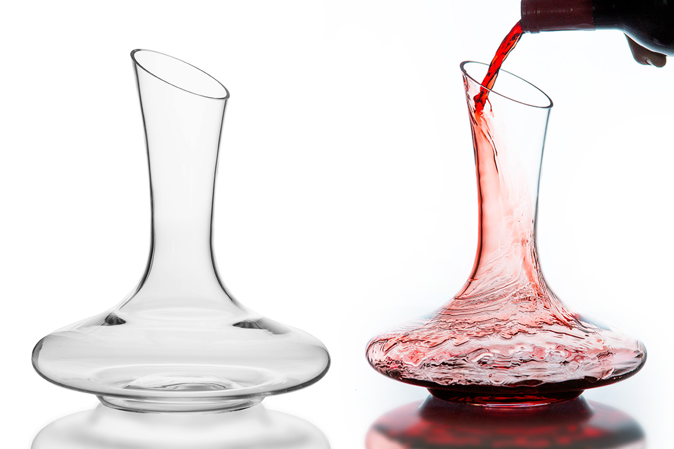 product photography of glass in austin texas