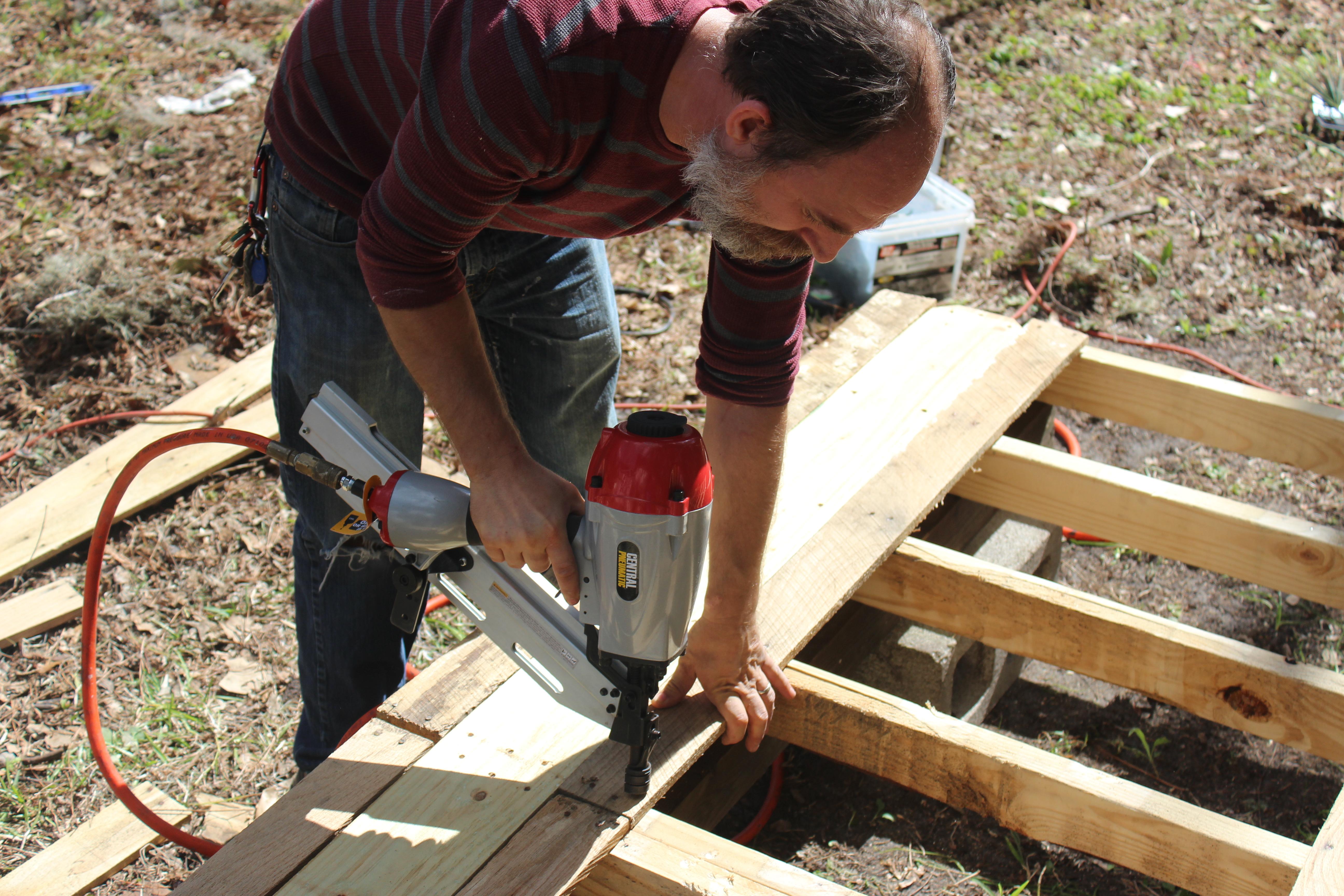 Step 9 Install Pallet Decking