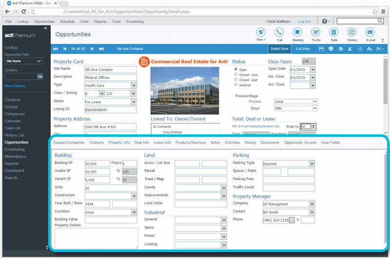 CRM_for_Commercial_Real_Estate_Keep_Specific_Property_Details