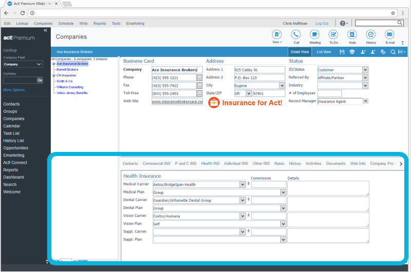 CRM_for_Insurance_Employer_Participation_Tracking