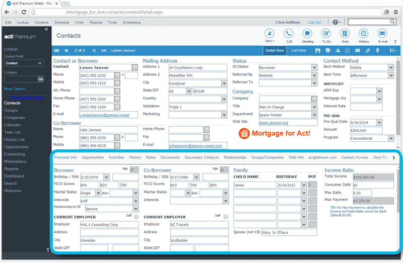 CRM_for_Mortgage_Borrower_Personal_Info_and_Income_Tracking
