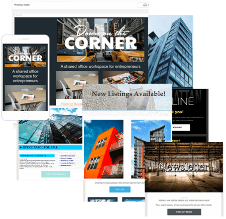 Commercial Real Estate Email Templates