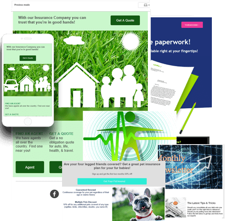 Insurance Agent Email Marketing Templates