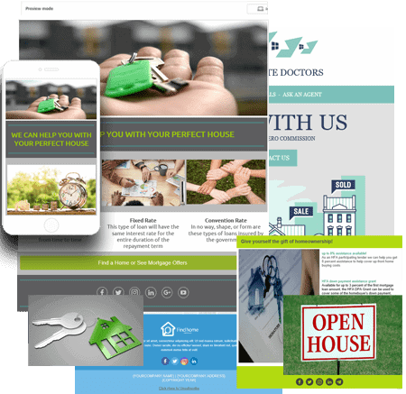 Real Estate Mortgage Email Marketing Templates