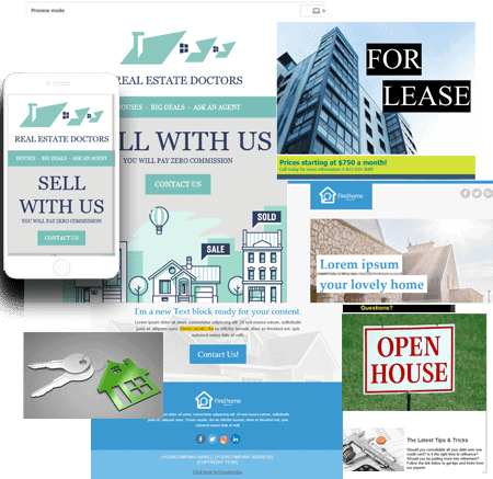 Real Estate Agent Email Marketing Templates