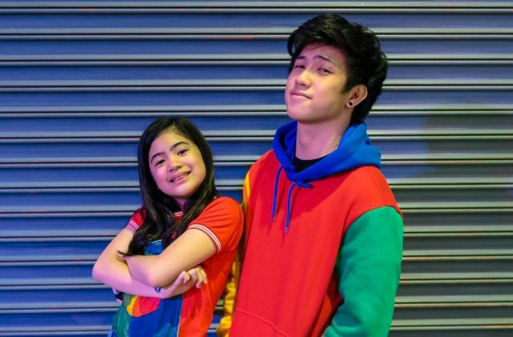Ranz Kyle and Niana Guerrero
