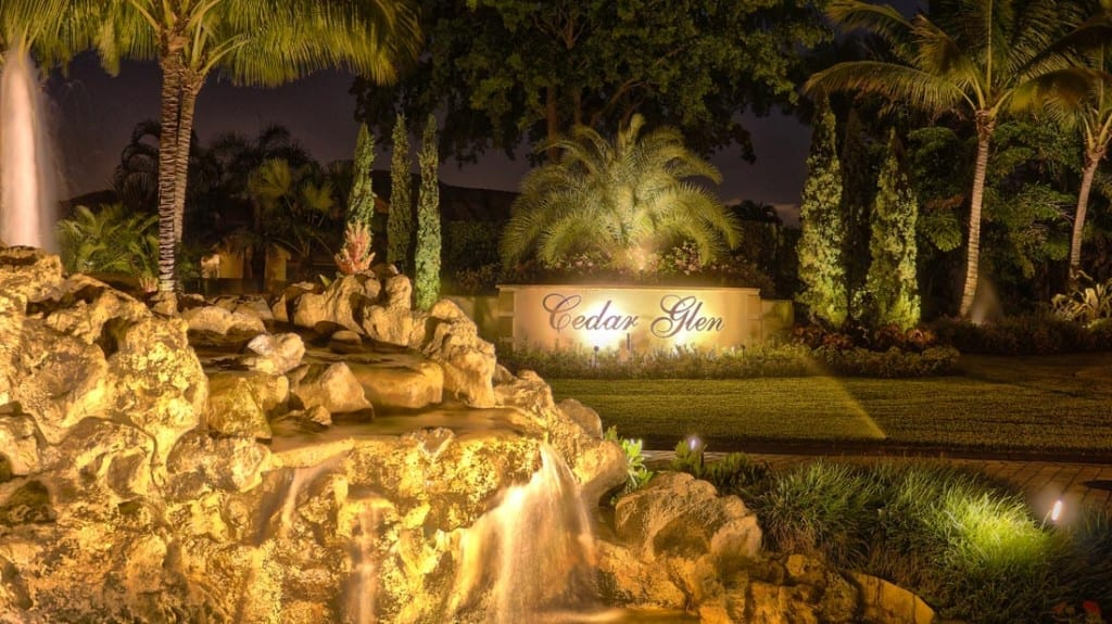 statues fountains best lighting service