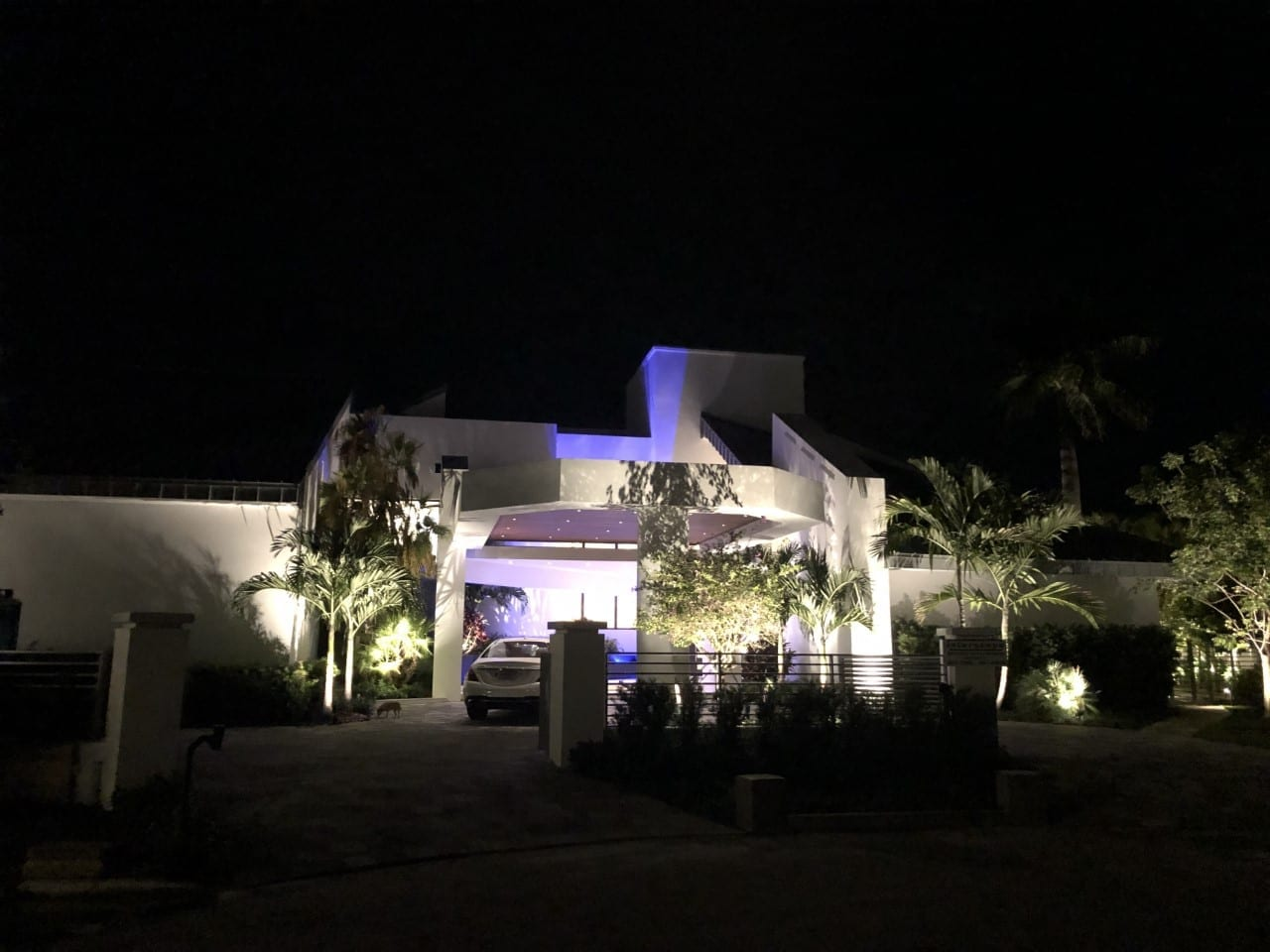 Miami - Biscayne Bay - Residential Landscape Lighting