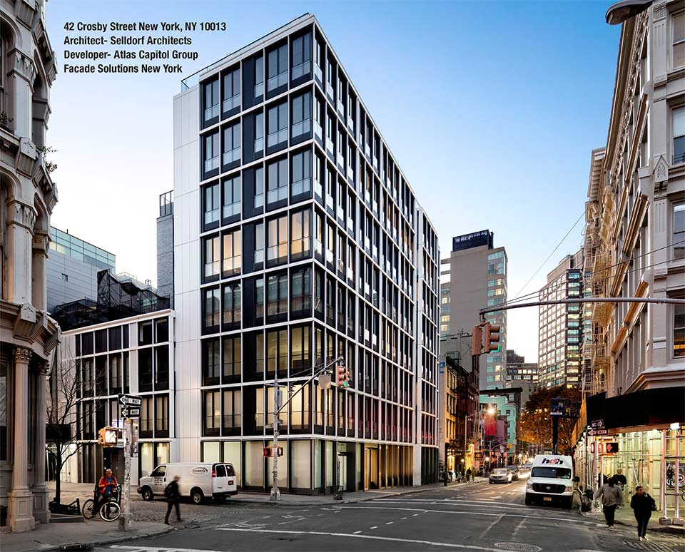 42 crosby street - facade solutions new york