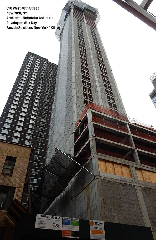 310 West 40th Street - facade solutions new york