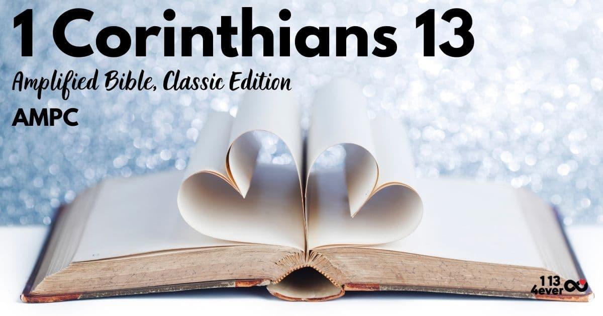 1 Corinthians 13 | Amplified Bible, Classic Edition | AMPC