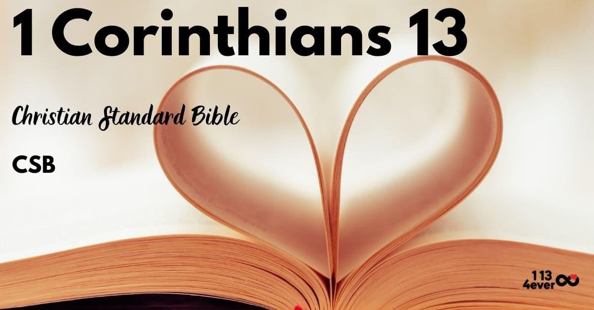 1 Corinthians 13 | Christian Standard | CSB