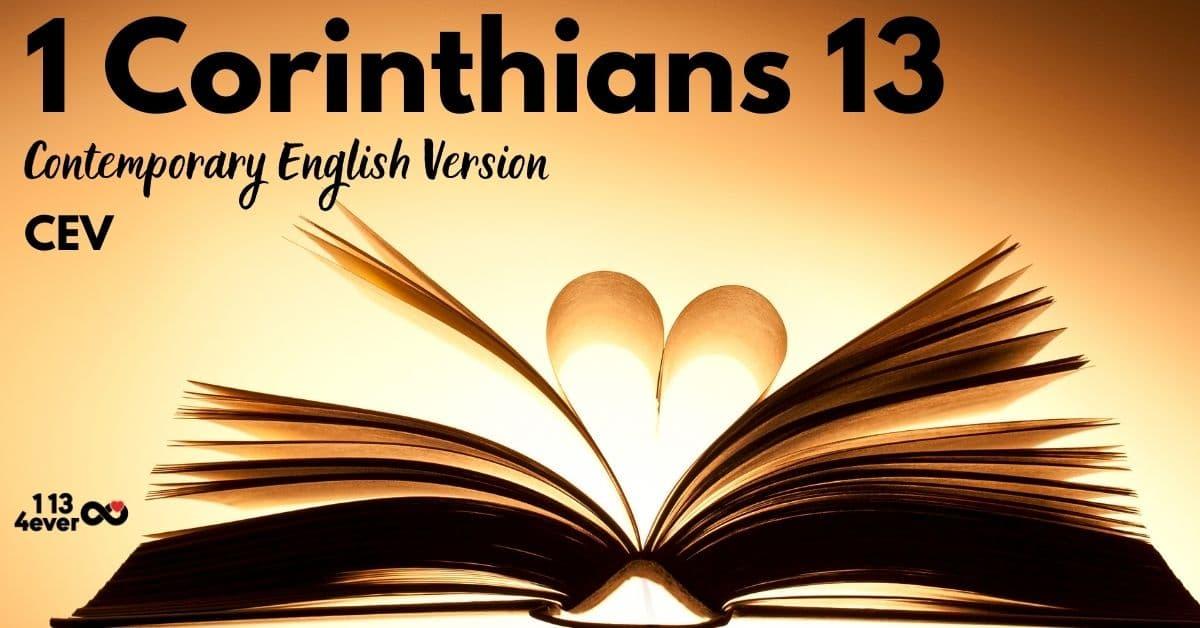 1 Corinthians 13   Contemporary English Version   CEV