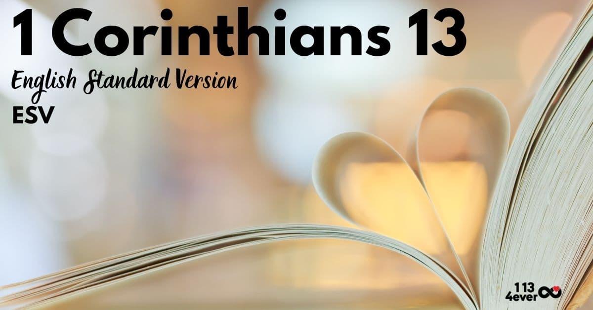 1 Corinthians 13 | English Standard Version | ESV