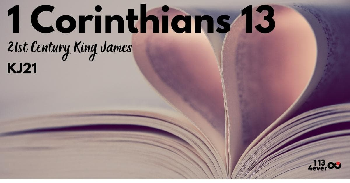 1 Corinthians 13 | 21st Century King James| KJ21