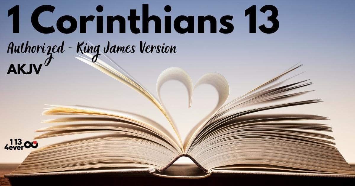1 Corinthians 13 | Authorized | King James Version | AKJV
