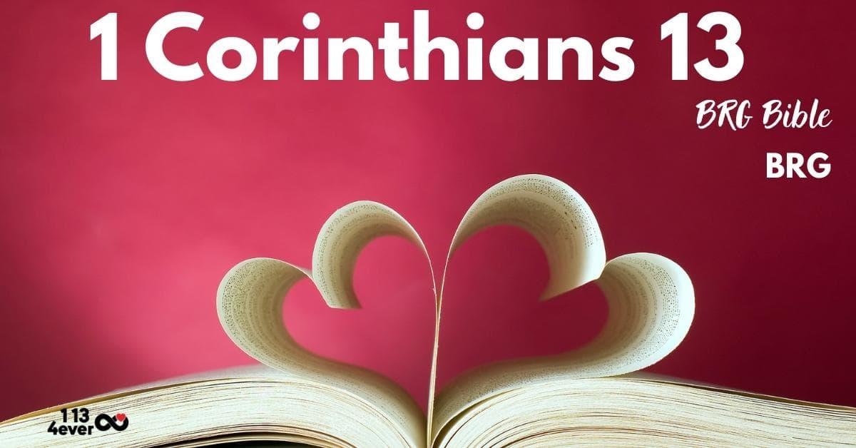 1 Corinthians 13 | BRG Bible