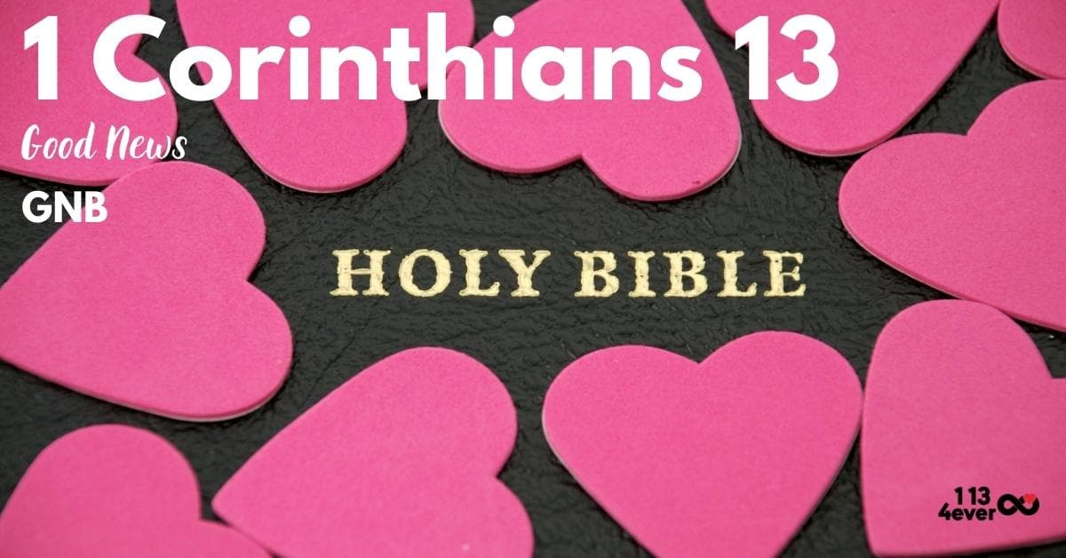 1 Corinthians 13 | Good News | GNB