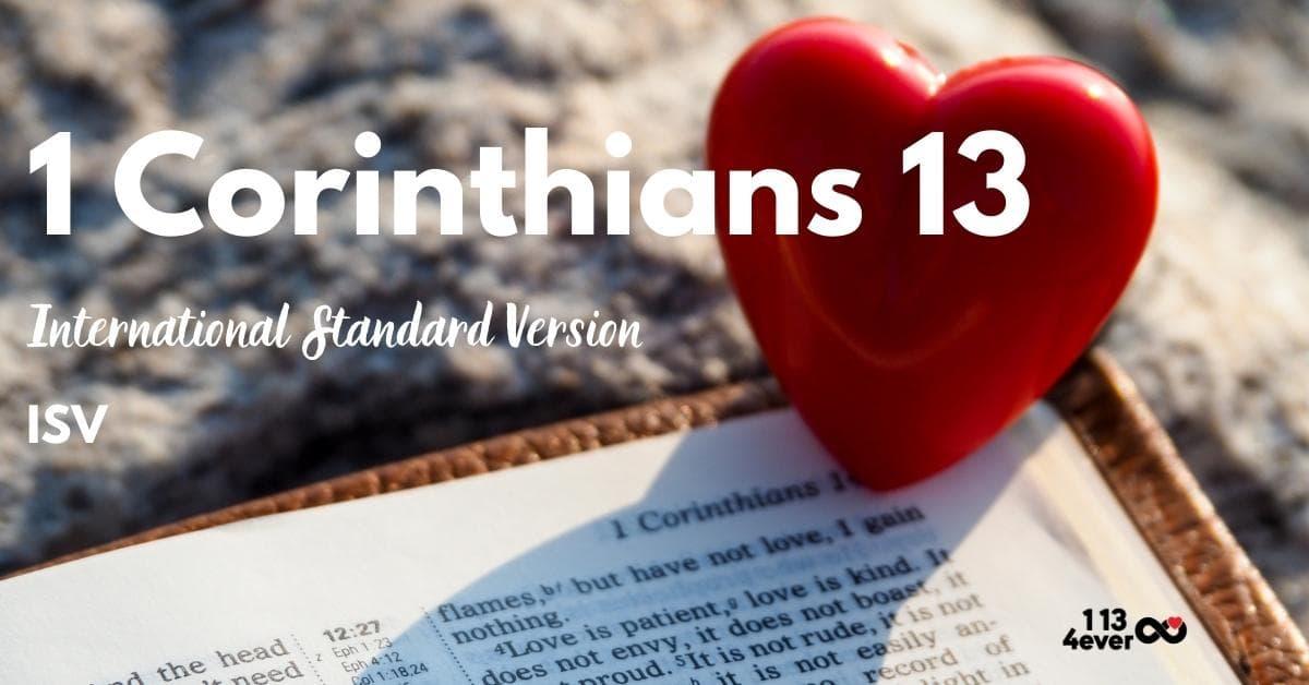 1 Corinthians 13 | International Standard Version | ISV