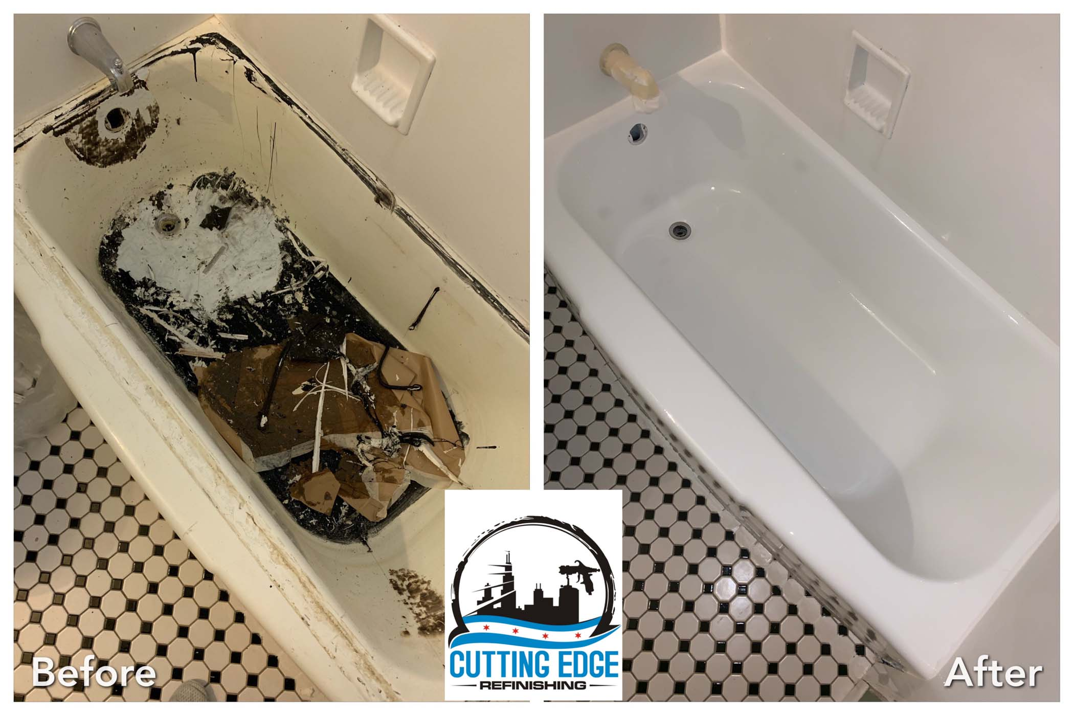 Bathtub Refinished In Chicago