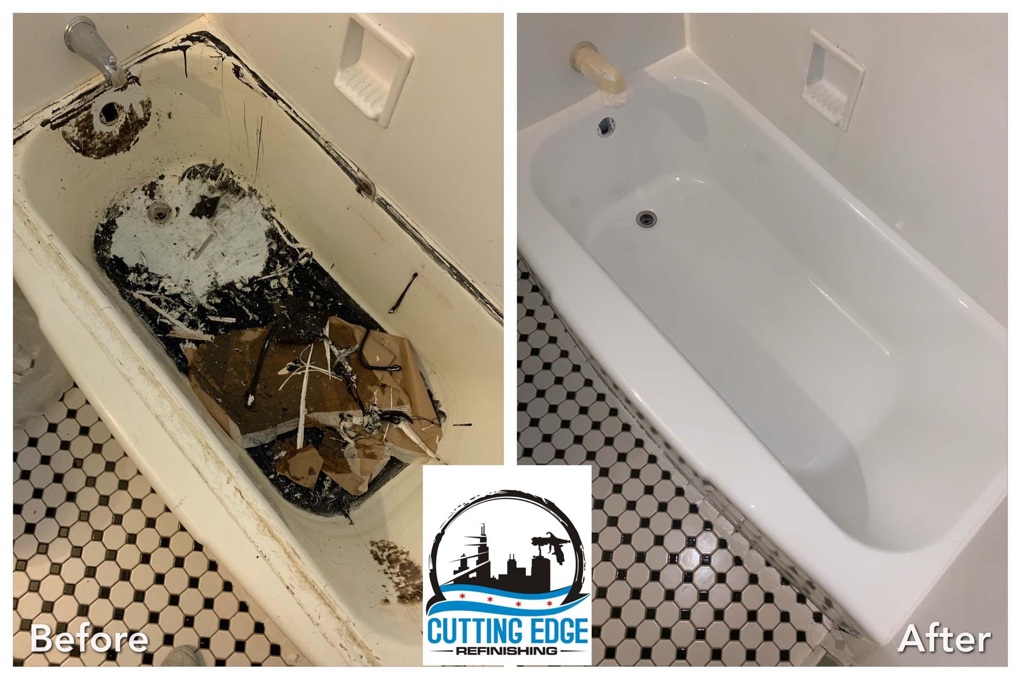 Bathtub Refinished In Chicago