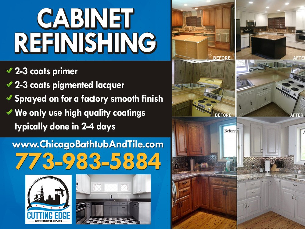 Cabinet Refinishing Flyer
