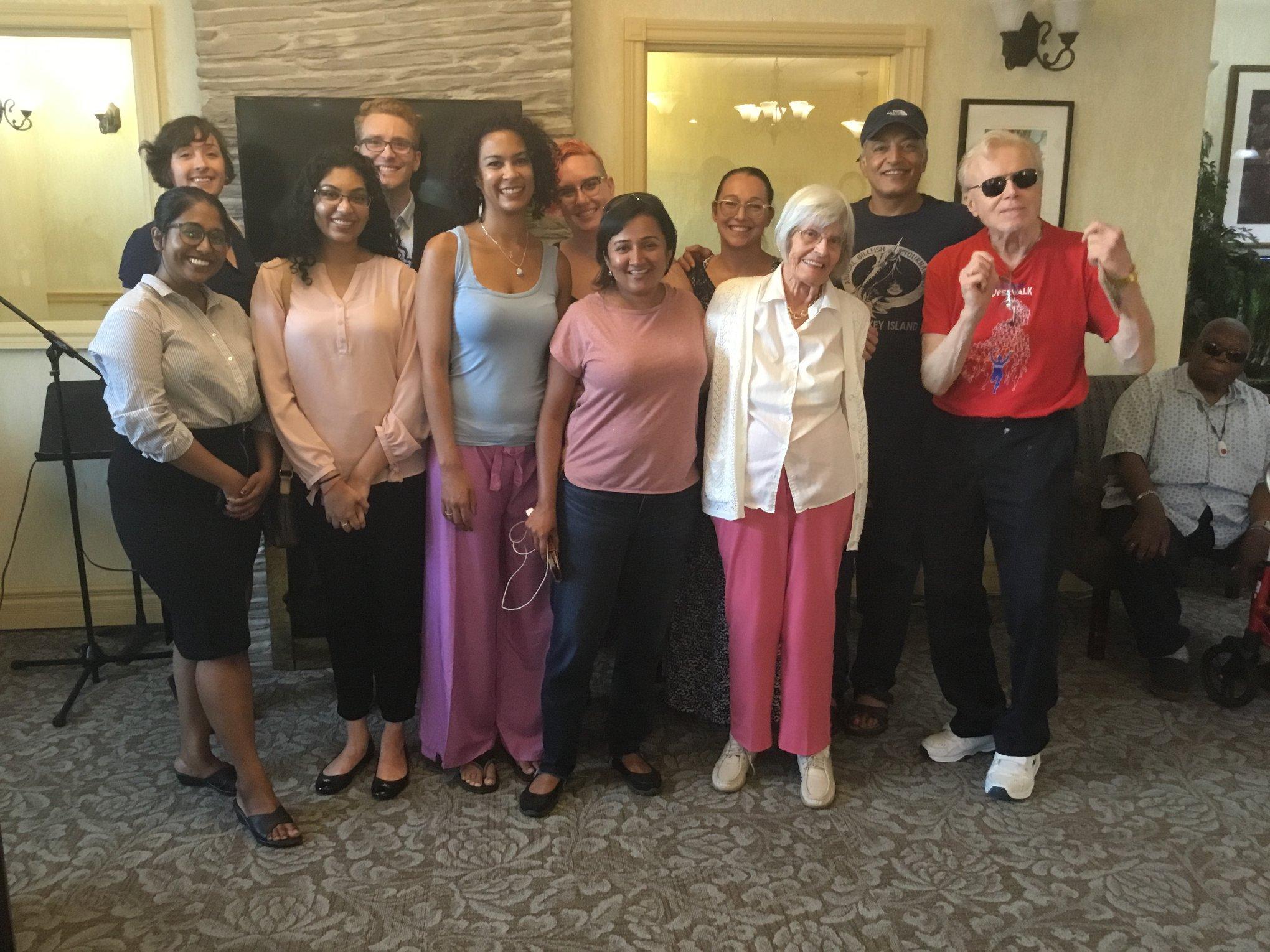 Wordy Wednesday group photo