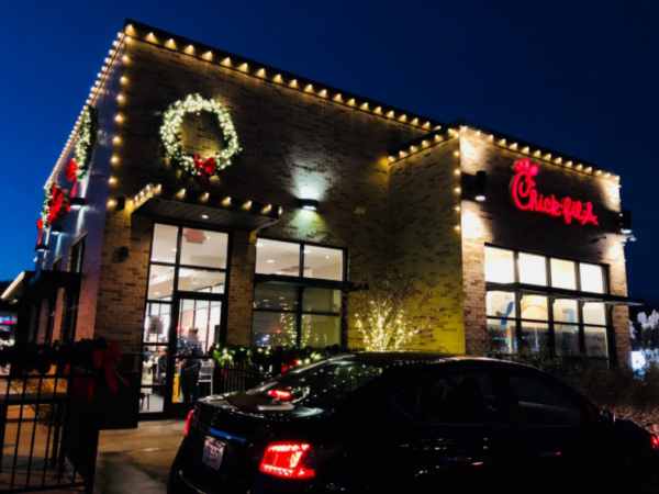 Chick-fil-A Christmas Theme