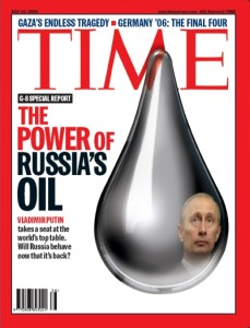 TIME cover--Russia's oil