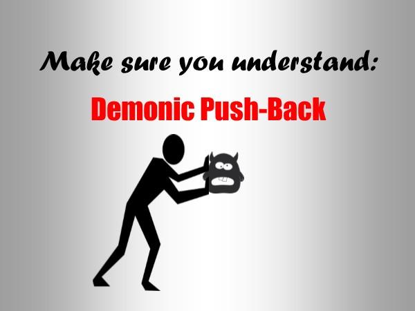 Demonic Push-Back