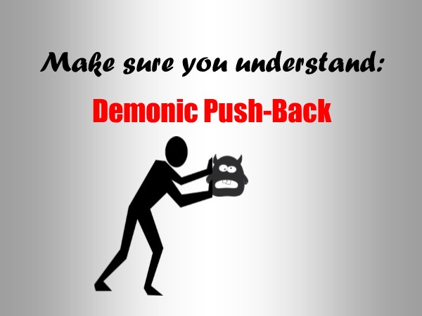 Demonic Push-Back