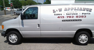 L&W Appliance Repair Van