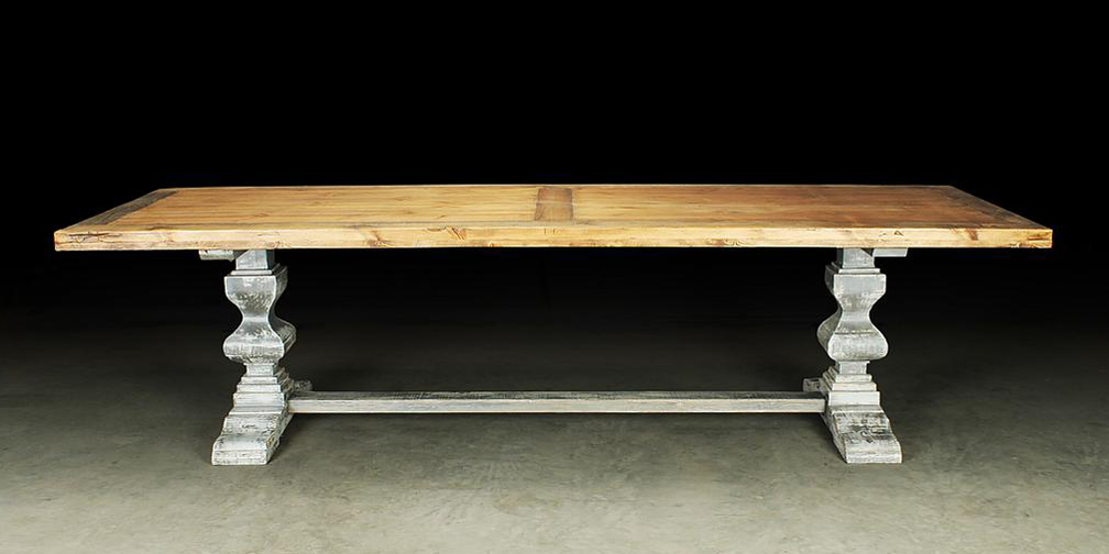 T1890 Typically 7' to 10' in length, Shown in Coastal Sands Stain with Weathered Grey Base