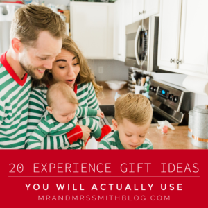 20 Experience Gift Ideas You Will Actually Use