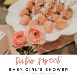 'Tutu Sweet' – Baby Girl's Shower