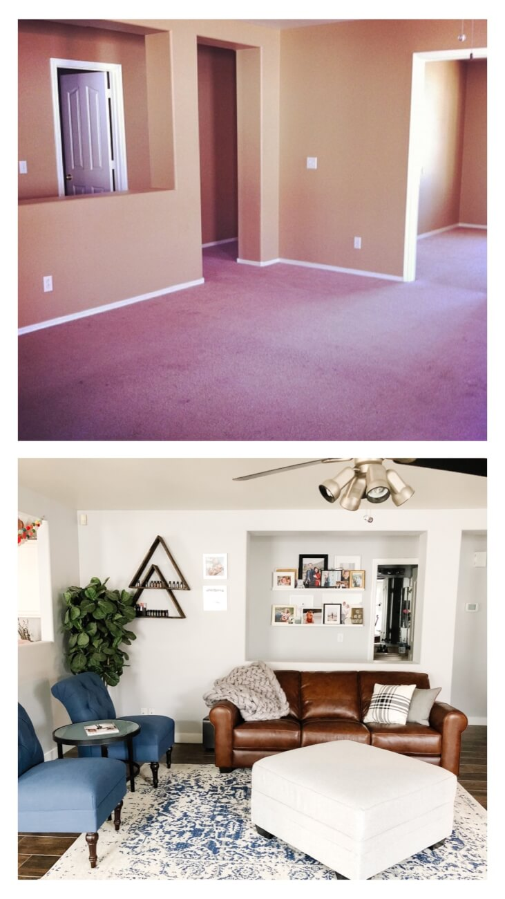 living room b/a