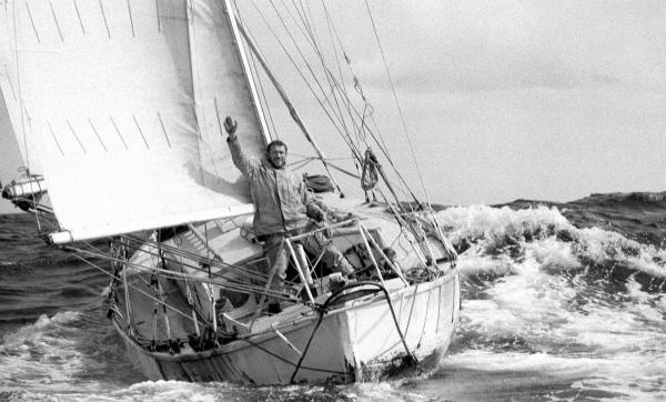 Robin Knox Johnston in 1969