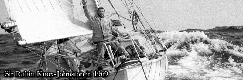 Sir Robin Knox Johnston Golden Globe Race 1969